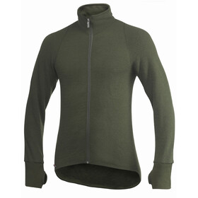Woolpower Unisex 600 Full Zip Jacket pine green